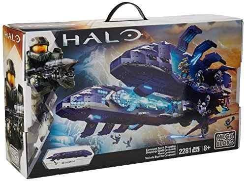 Mega Bloks Juego De Construcción Halo Nave Convenant Drop Y8 ...