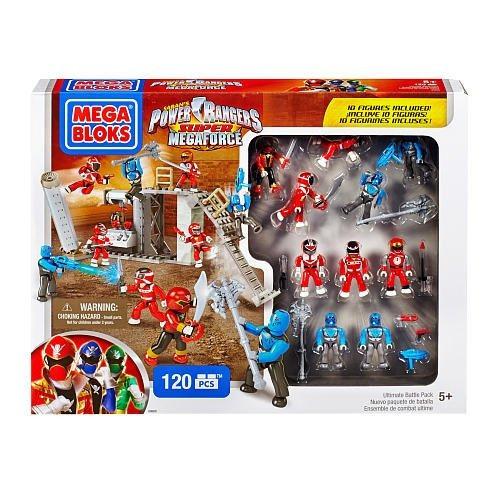 mega bloks, power rangers super megaforce, ultimate battle