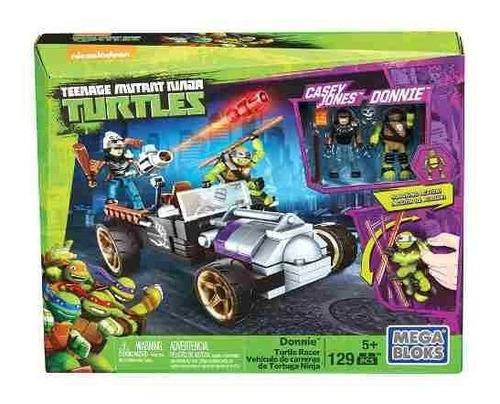 mega bloks tortugas ninja donnie vehiculo de carreras