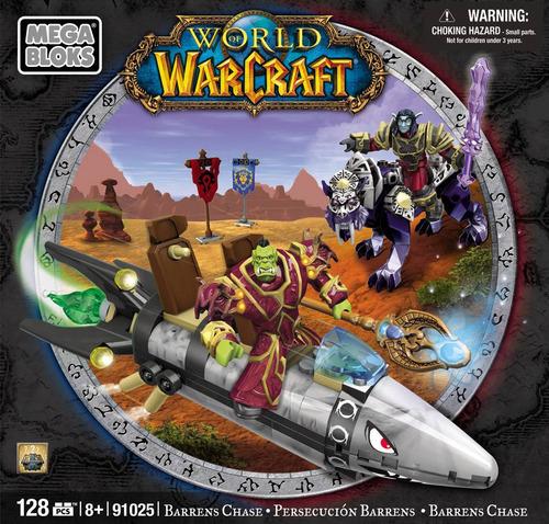 mega bloks world of warcraft 91025 caixa pouco amassada