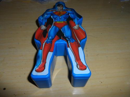 mega box superman - liga da justiça burger king