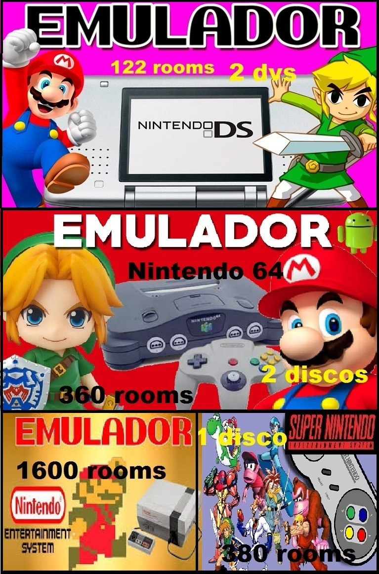 Mega Coleccion Emuladores Juegos Retro Emuladores Para Pc