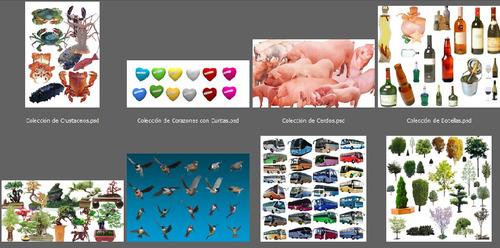 mega colecciones unicas de recursos editables para photoshop