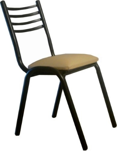 mega combo mesa 150x80 + 6 sillas apilables caño !imperdible