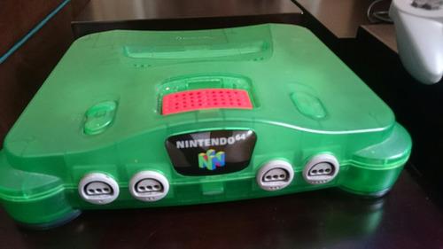 mega combo special n64 nintendo +4 juegos+control+expansion