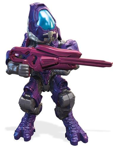 mega construx covenant fire team  elites, grunt y jackal