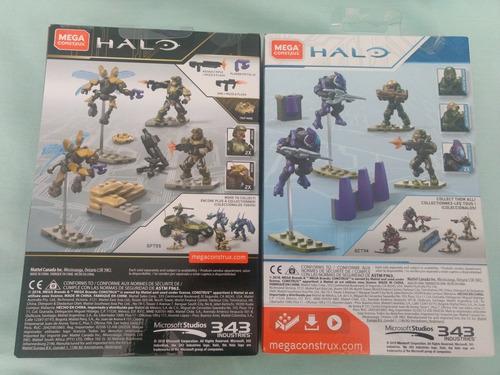 mega construx halo defensa naval unsc y equipo spartan iv