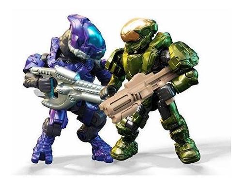 mega construx halo fireteam spartan vs elites juego de juego