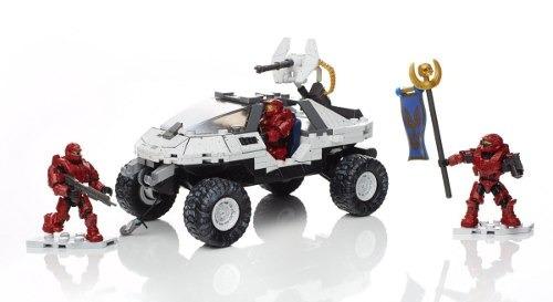 mega construx halo warthog 311 piezas bloques envio gratis