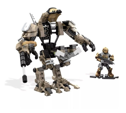 mega construx (mega bloks) halo desert sniper cyclops/nuevo.