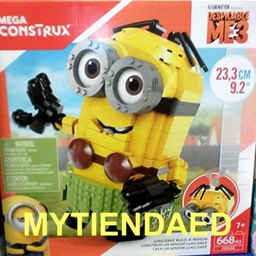 mega construx minion luau dave gigante mi villano favorit 3