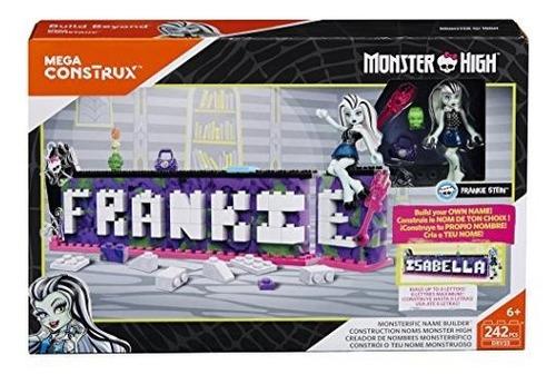 mega construx monster high monsterific name builder