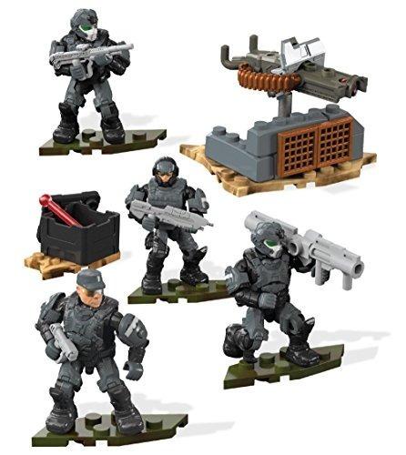 mega construx set de juego halo equipo de combate marines