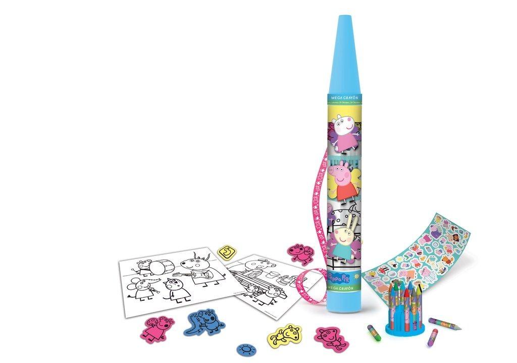 Mega Crayon Set De Arte Para Colorear - $ 458,91 en Mercado Libre