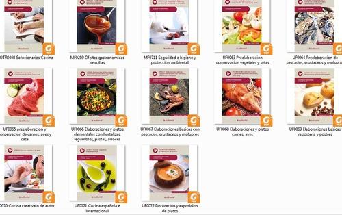 mega curso de cocina 13 libros @@@