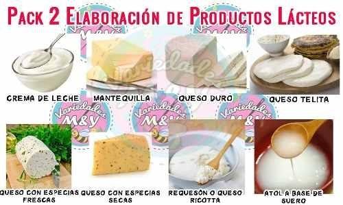 mega curso elaboración de quesos casero productos lácteos