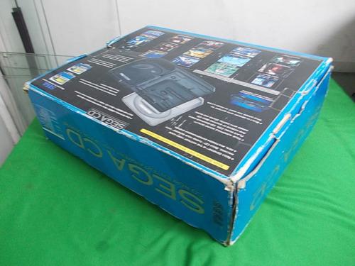 mega genesis + sega cd 1 controle caixa e manuais 1 jogo