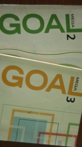 mega goal  1  -  2  - 3, libros inglés