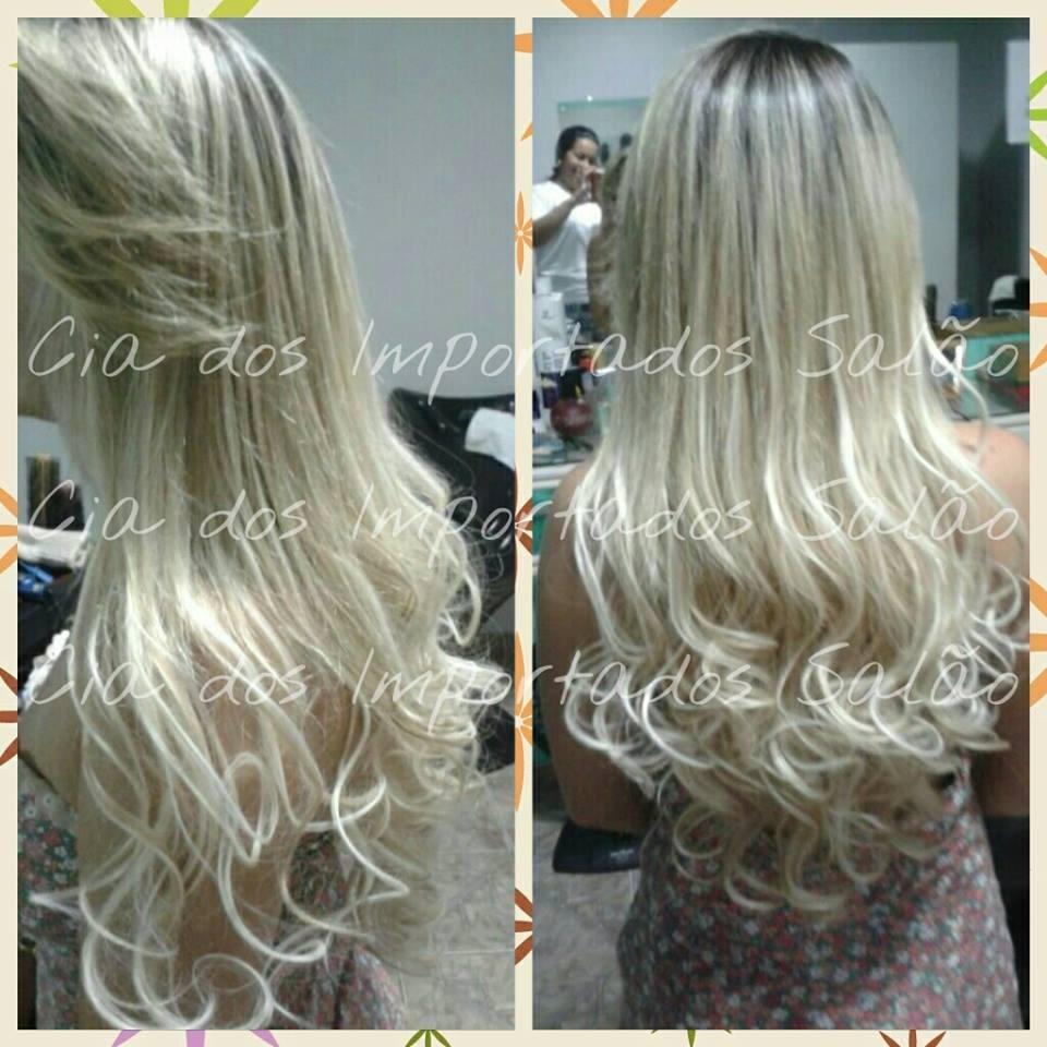17243cb46 Mega Hair Aplique Tic Tac Fibra Orgânica 60/65 Cm - R$ 120,00 em ...