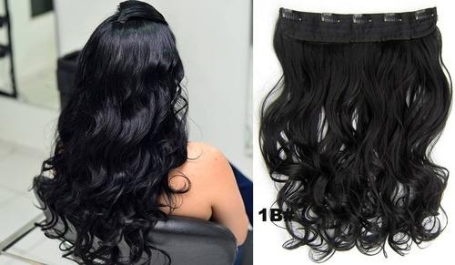 mega hair aplique tic tac fibra orgânica 60/65 cm