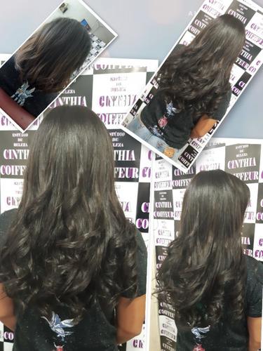 mega hair e box braids