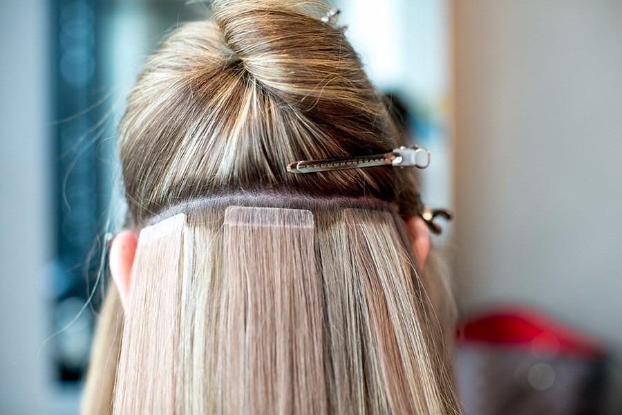Mega Hair Fita Adesiva Hair Extension 40 E 60 Cm Remy 5a R 38000