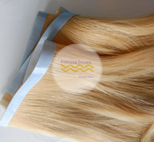 mega hair fita adesiva, microlink, queratina e microcapsulas