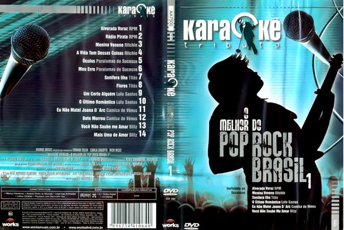 mega karaoke 7 dvd coletanea internacional pop mpb barato