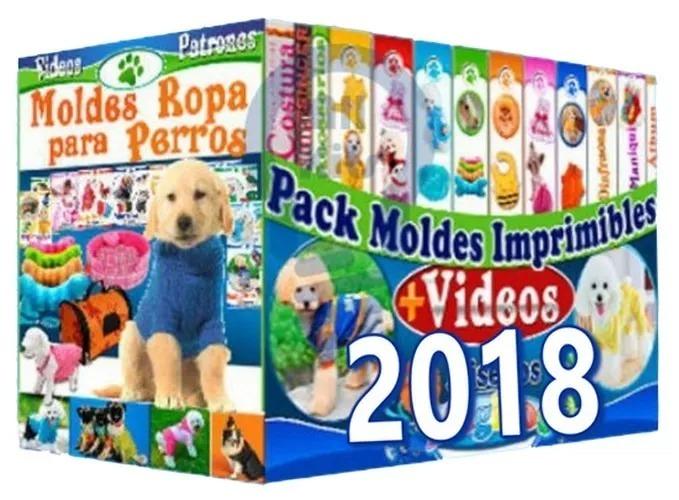 Mega Kit 2018 Moldes Y Patrones De Ropa Para Perros + Videos - S/ 22 ...