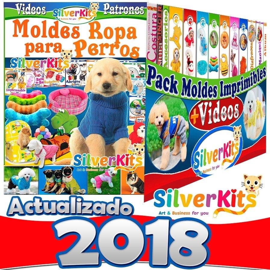 Mega Kit 2018 Moldes Y Patrones De Ropa Para Perros + Videos - S/ 29 ...
