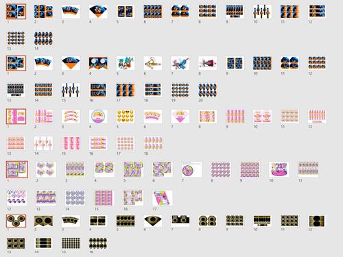mega kit empresarial imprimible de cumpleaños