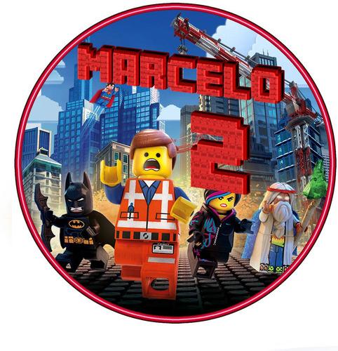 mega kit imprimible lego película cotillón cumpleaños 2x1
