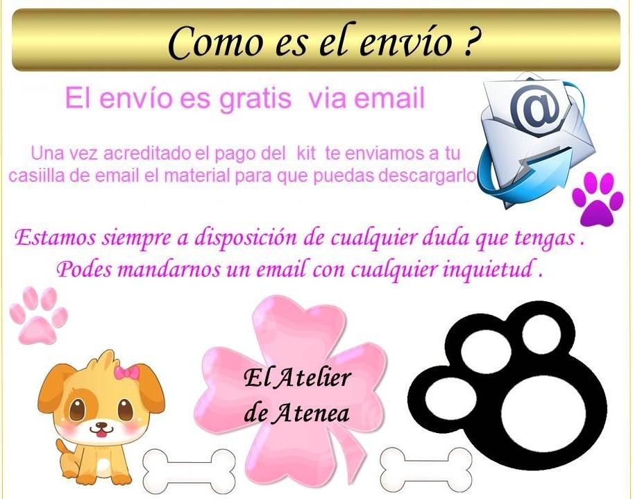Mega Kit Imprimible Moldes Y Patrones Ropa Para Perros Y Mas - $ 50 ...