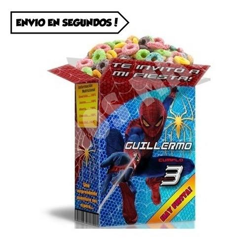 mega kit imprimible spider man hombre araña 2x1