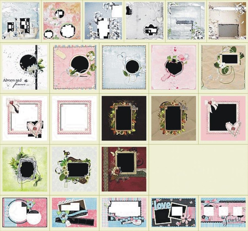 mega kit marcos digitales de alta calidad vol. 4 + regalos
