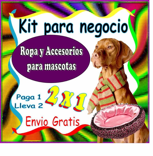 mega kit patrones moldes ropa perro juguetes accesorio video