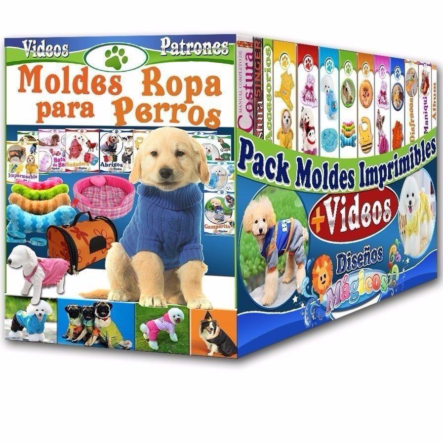 Mega Kit Patrones Moldes Ropa Perros Juguetes Accesorio Y + ...