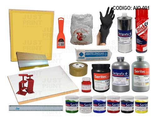 mega kit serigrafia todo en uno. checalo! envio gratis