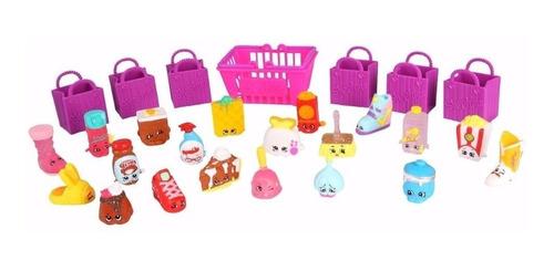 mega kit shopkins - série 2 - 20 shopkins sortidos dtc 3588