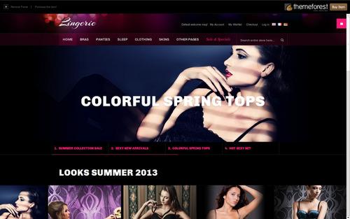 mega loja lingerie profissional + instalação grátis.