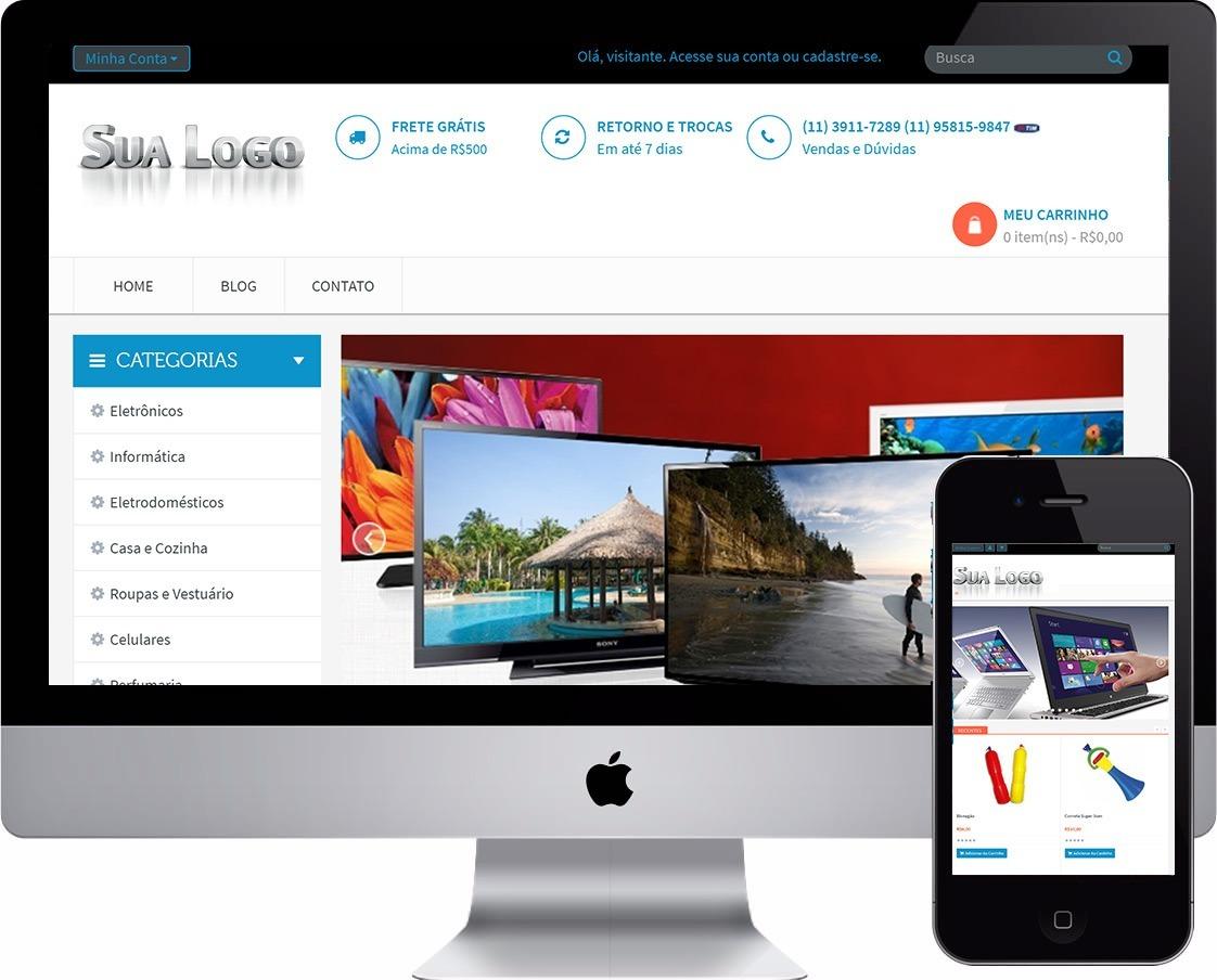 f8404069a mega loja virtual e-commerce completa a melhor loja php site. Carregando  zoom.