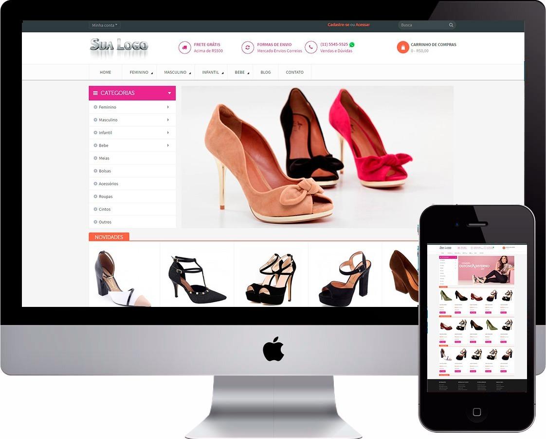 4bcd6844f mega loja virtual sapatos calçados femininnos calçados. Carregando zoom.