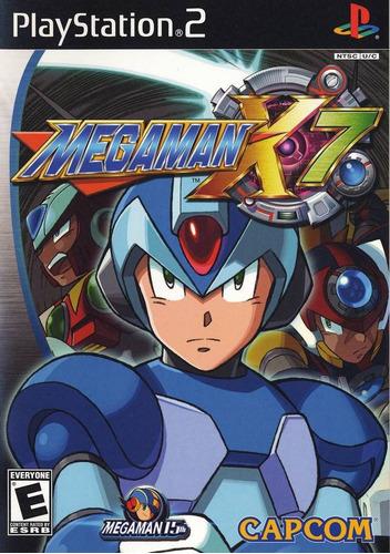 mega man x7 (sin manual) - ps2