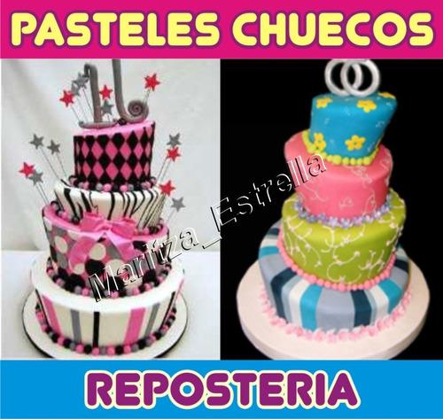 mega manual pastel chueco, fondant, cupcake, tortas, gelatin