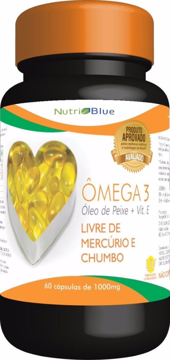 a904e143bb1 4 X Ômega 3 Ômega 3 Com Vitamina E Nutriblue Dr.lair - R  139