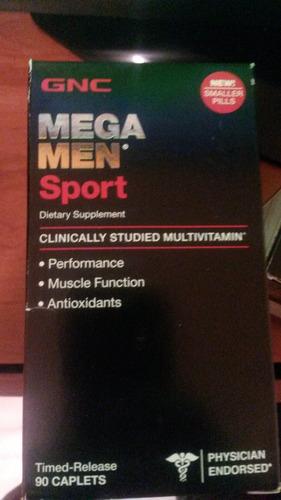 mega men sport gnc x 90 tabletas
