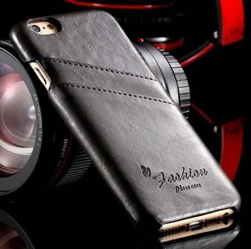 mega oferta case/capa couro  apple iphone 6