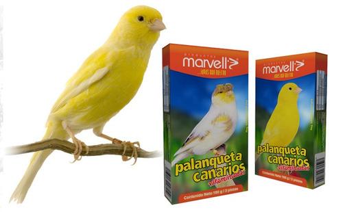 mega oferta marvell snack palanqueta vitaminada p/ canario
