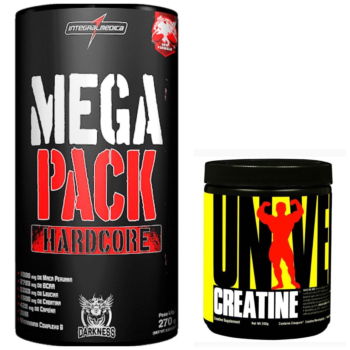 e076005cc Mega Pack 30 Pack Integral + Creatina 200g Universal - R  149
