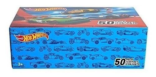 mega pack 50 autitos hot wheels original colección de lujo